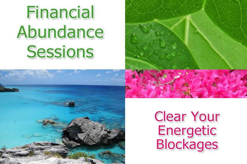 Financial Abundance Energy Healing Sessions